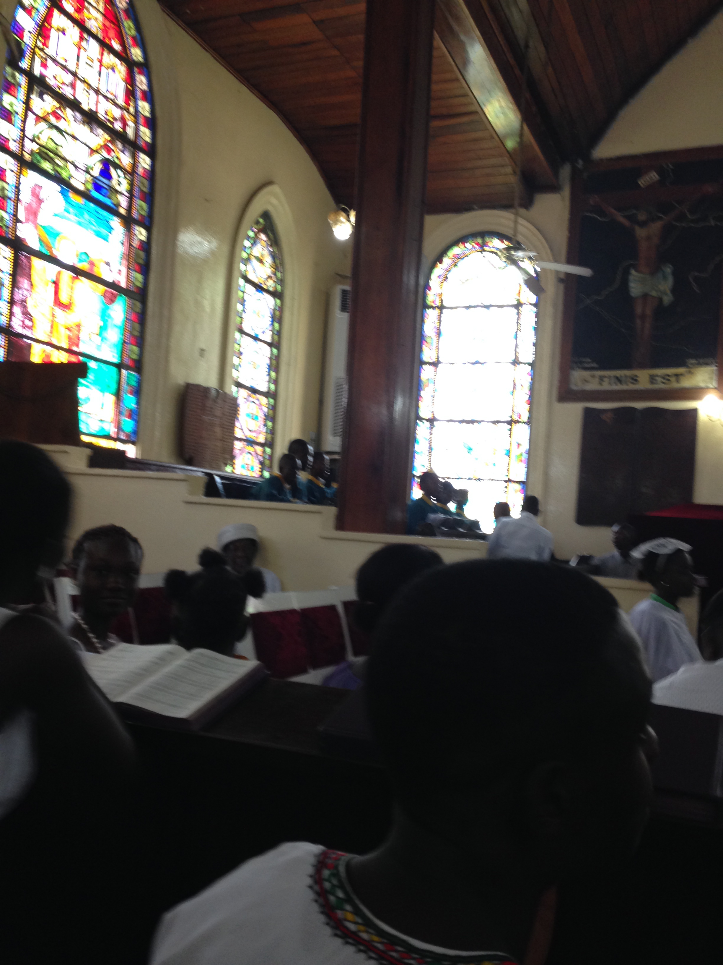 Monrovia UMC Choir.. they were wonderful!