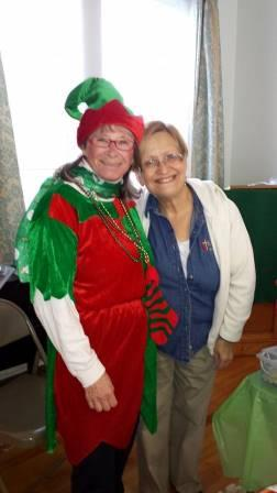 Elfing around with Pastor Aida