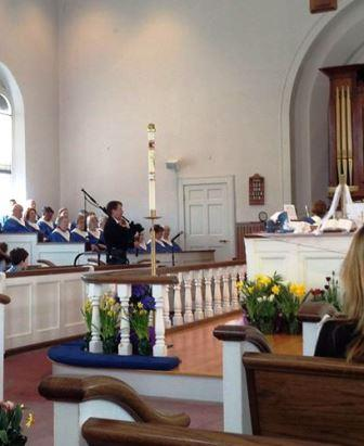 Easter bagpipes