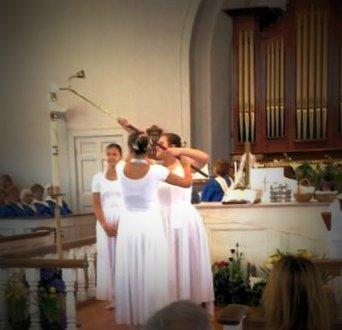 Easter dancer