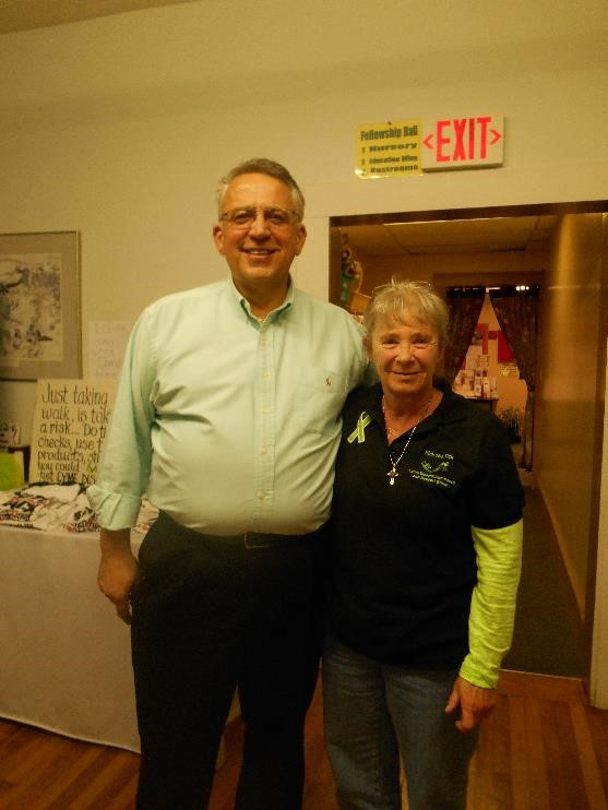 Lois and Rick Burkot